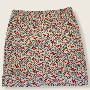 Gap flower print straight/pencil summer skirt
